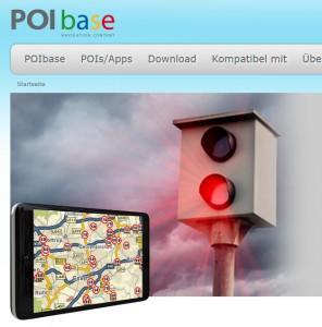Verlosung: POI-Base – Nicht nur eine Blitzer-App