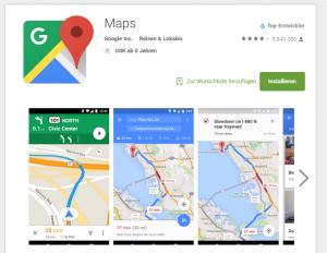 """""""Losfahren"""" – Google Maps für einen schnellen Start"""