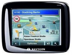 Navigon 2100 DACH - das Navigationssystem bietet viel, kostet aber unter 200 Euro. Foto: Navigon.