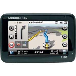 Medion GoPal P4425 - mobiles GPS Navigationssystem mit Top-Ausstattung.