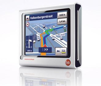 Falk M6 - Navigationssystem mit Reiseführer. Foto: Falk