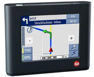 Falk N 205 Navigationssystem. Foto: Falk.