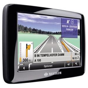 Das neue Navigon 2110 max Navigationssystem. Foto: Navigon