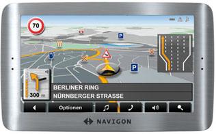 Das Navigon 8110. Foto: Navigon.