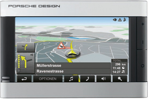 Navigationssystem Navigon P'9611 Porsche Design. Foto: Navigon.