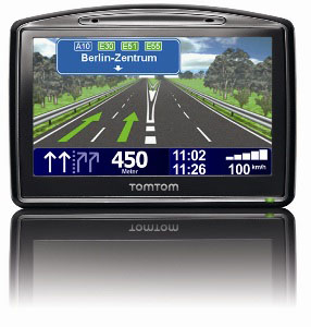 Übersichtlich: Der Fahrspurassistent im TomTom Go 930t. Foto: TomTom