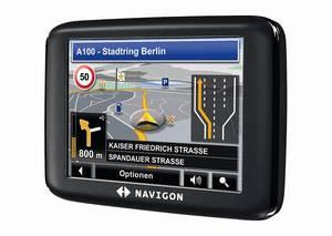 Navigationssytem Navigon 1210 (Foto: Navigon)