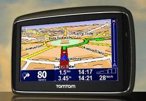 Navigationssystem Tomtom Go 740 Live