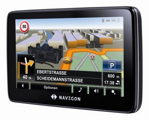 Navigon 7210 mit neuer Software: Navigon 7310