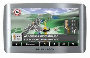 Navigationssystem Navigon 8110 (Foto: Navigon)