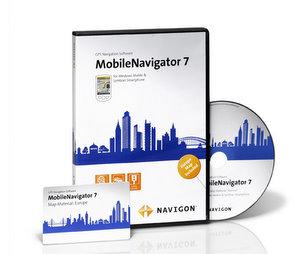 NAVIGON MobileNavigator 7 Software für Google Handy G 1 und G2 Touch (Foto: Navigon)