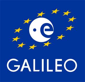 Galileo. Das Logo der neuen Satellitennavigation aus Europa. Foto: ESA