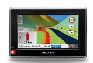 Becker Traffic Assist Z205 Navigationssystem