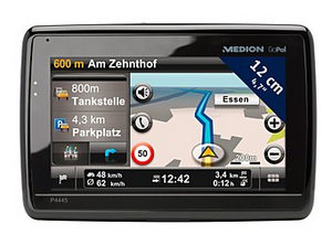 MEDION GoPal P4445 EU+ Navigationssystem (Foto: Medion)