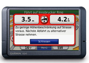 Garmin Nüvi 465T pro Navigationssystem (Foto: Garmin)