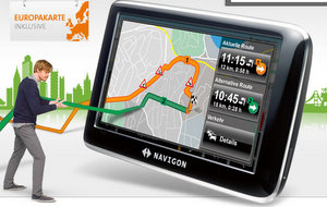 NAVIGON 4350 max Navigationssystem (Foto: Navigon)
