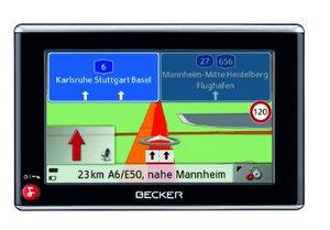 becker z 108 navigationssystem (Foto: Becker)
