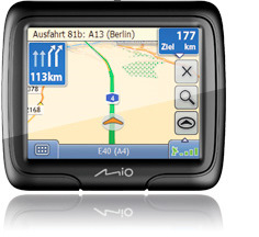 mio moov m 305 navigationssystem (Foto: Mio)