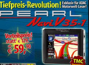 Pearl V 35-1 Navigationssystem (Foto: Pearl)