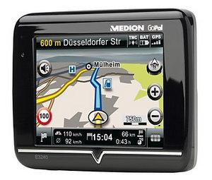 Medion E3240 (MD 98030 Navigationssystem) (Foto: Medion)