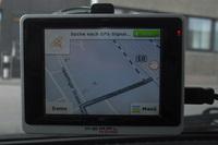 pearl vx 35 easy navigationssystem test suche gps signal (Foto: Jürgen Lück)