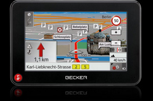 Becker Z 213 Navigationssystem (Foto: Becker)