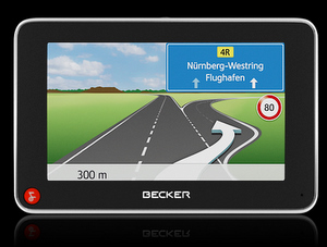 Becker Z215_Navigationssystem (Foto: Becker)