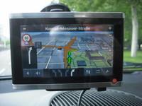 Falk Vision 700 Navigationssystem navigogo test 3d gebäude (Foto: Jürgen Lück)