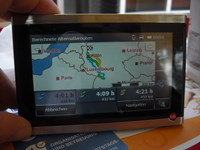 Falk Vision 700 Navigationssystem navigogo test alternativrouten (Foto: Jürgen Lück)