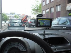 Falk Vision 700 Navigationssystem navigogo test auto ansicht (Foto: Jürgen Lück)