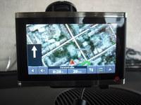 Falk Vision 700 Navigationssystem navigogo test-satellitenbild (Foto: Jürgen Lück)