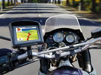 Pearl TourMate 350 Motorrad und Bike Navigationssystem (Foto: Pearl)