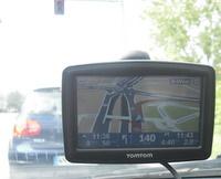 Tomtom xl2 navigogo test-fahrspurassistent (Foto: Jürgen Lück)