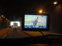 Tomtom xl2 navigogo test-tunnel hell (Foto: Jürgen Lück)