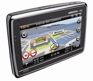MEDION GoPal X4345 Navigationssystem