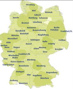 TV Navigationssysteme Empfang Deutschland (Grafik: Ueberallfernsehen.de)
