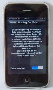 Versteckte Funktion: Navigon nutzt 650000 iPhone-Kunden als Staumelder