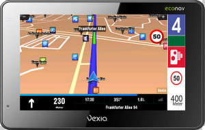 Vexia Econav 480 Navigationssystem (Foto: Vexia)