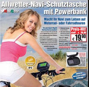Navgear Navi Schutztasche fürs Fahrrad (Foto: Pearl)
