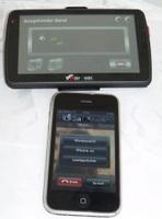 Navgear StreetMate RS 50 3D Bluetooth Anruf (Foto: juergenlueck.com)