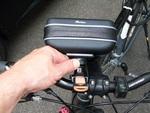 Pearl navgear fahrradtasche navigationssystem (Foto: juergenlueck.com)
