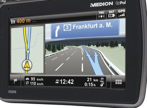 Medion GoPal E5255 Navigationssystem (Foto: Medion)