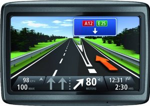 Tomtom Via125 Traffic Navigationssystem