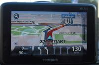 fahrspurassistent tomtom go live 1000 navigationssystem navigogo test (foto: juergenlueck.com)