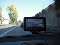 tunnel unperfekt tomtom go live 1000 navigationssystem navigogo test (foto: juergenlueck)