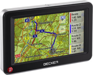 Becker Active 43 Traffic Navigationssystem foto becker