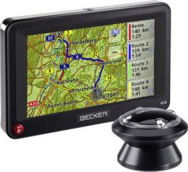 Fernbedienbar: Becker Professional Navigationssystem