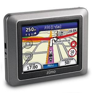Garmin Zumo 210 Motorrad Navigationssystem foto garmin