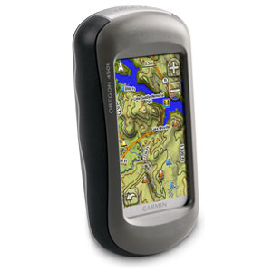 Hält durch: Garmin Oregon 450t Outdoor Navigationssystem