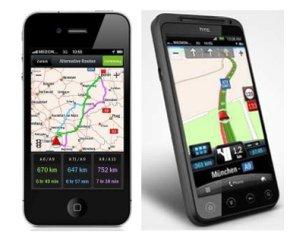Falk Navigator 3.0 App für Apple iPhone und Android-Smartphones